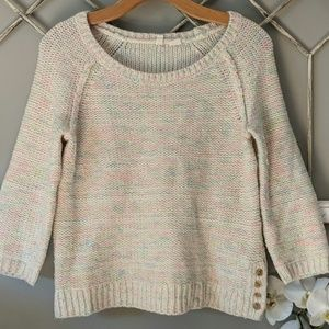 Anthropologie Moth confetti sweater Small